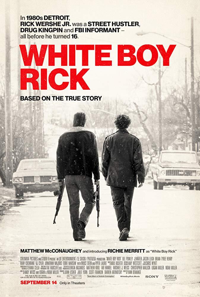 White Boy Rick 2018 English 720p BDRip x264 ESubs 900MB