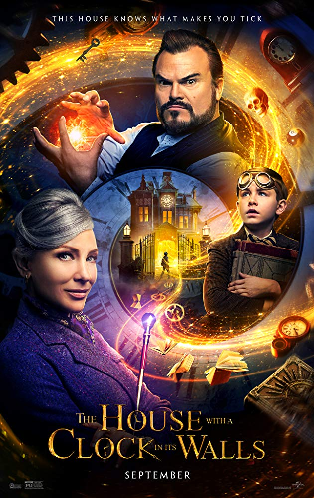 The House with a Clock in Its Walls 2018 720p BRRip XviD AC3-XVID