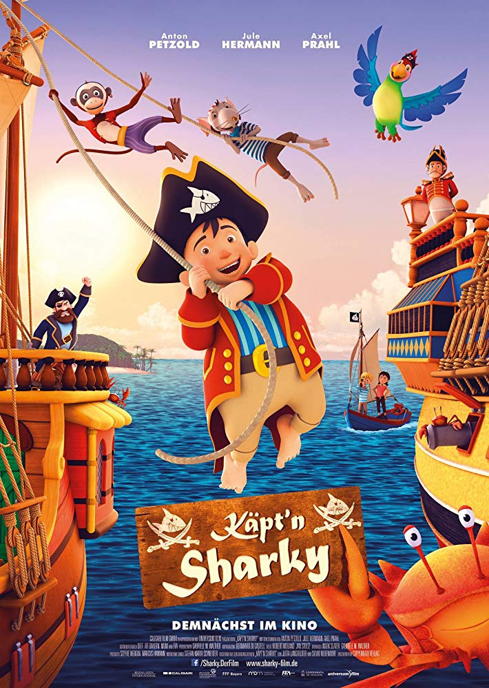 Captn Sharky 2018 HDRip XviD AC3-EVO