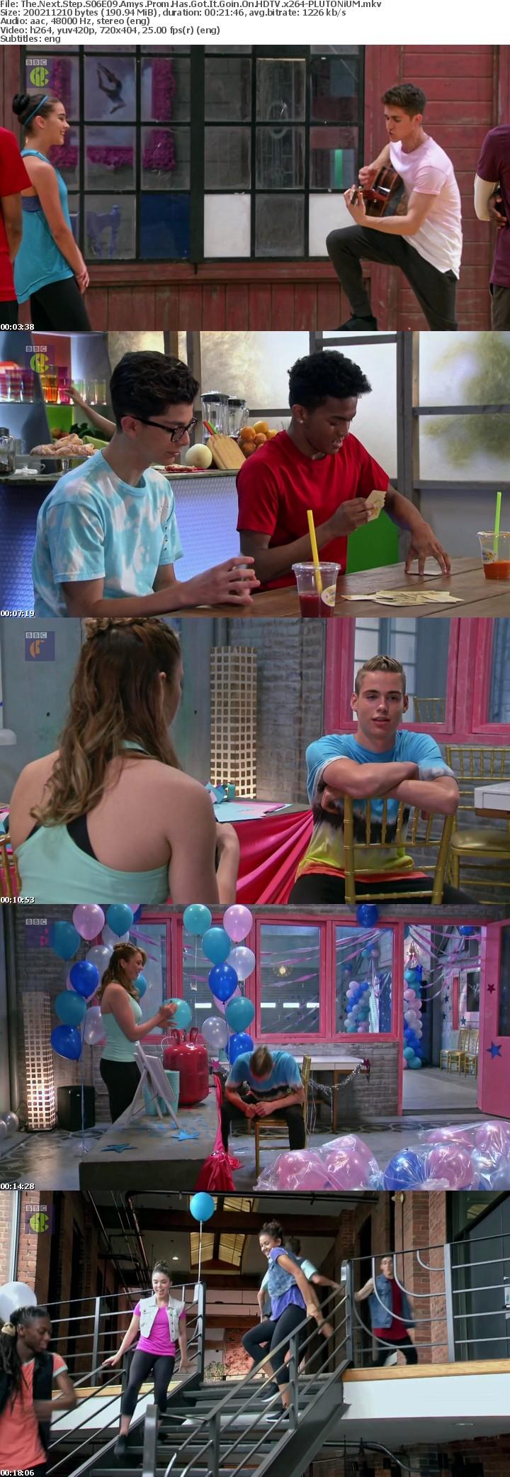 The Next Step S06E09 Amys Prom Has Got It Goin On HDTV x264-PLUTONiUM