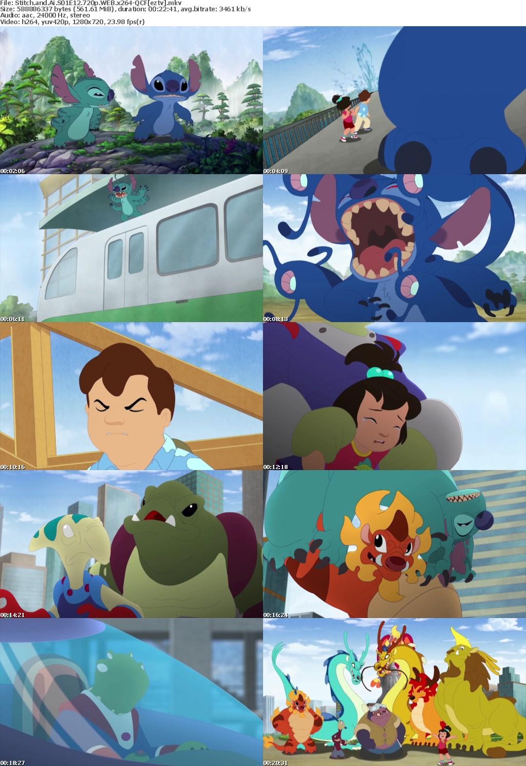 Stitch and Ai S01E12 720p WEB x264-QCF