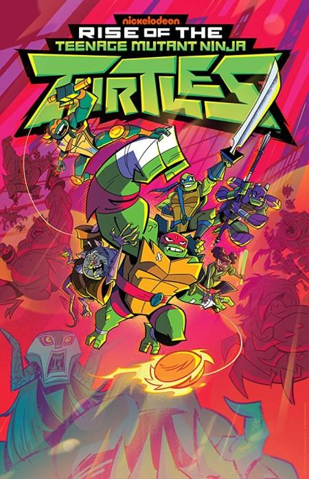 Rise of the Teenage Mutant Ninja Turtle S01E09b S01E10a HDTV x264-W4F