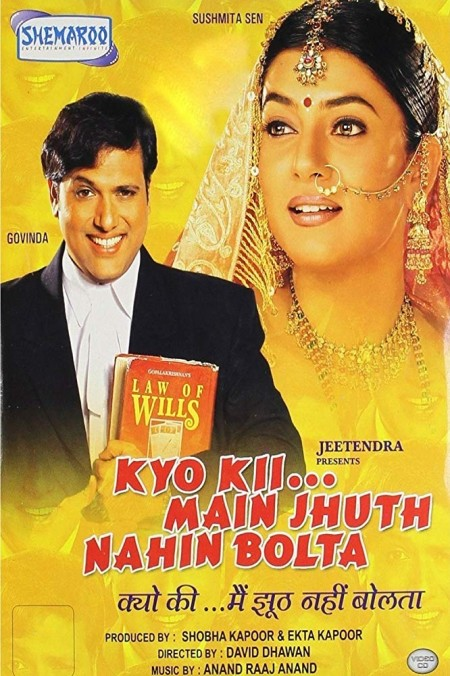 Kyo Kii Main Jhuth Nahin Bolta (2001) Hindi 720p WEB-DL x264 AC3-Sun George