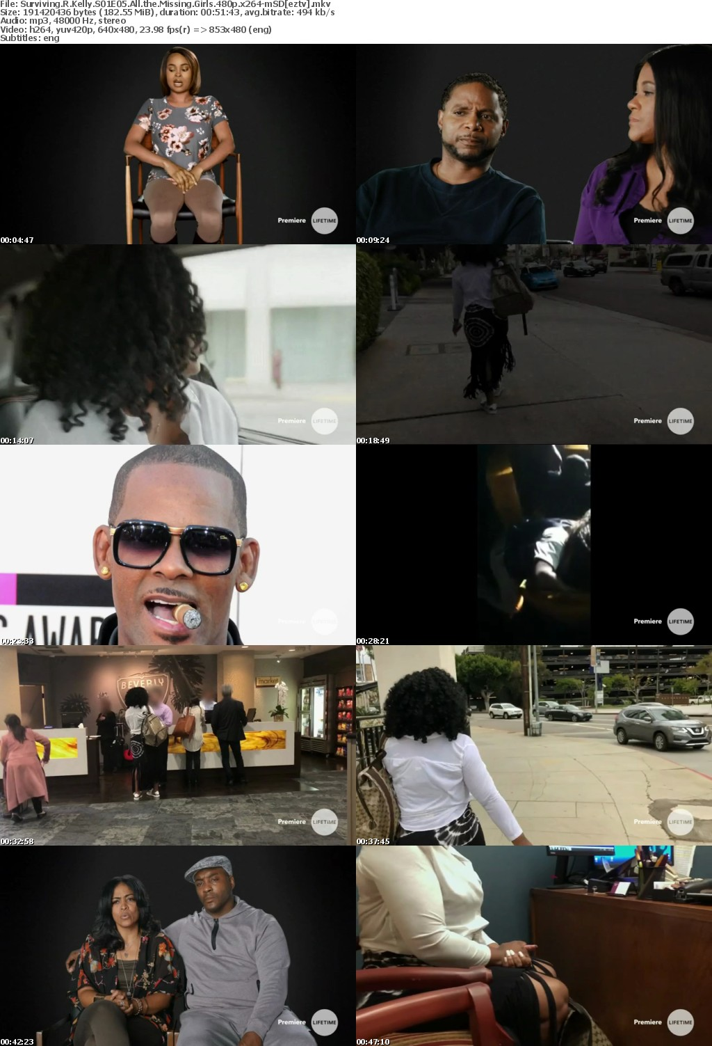 Surviving R Kelly S01E05 All the Missing Girls 480p x264-mSD