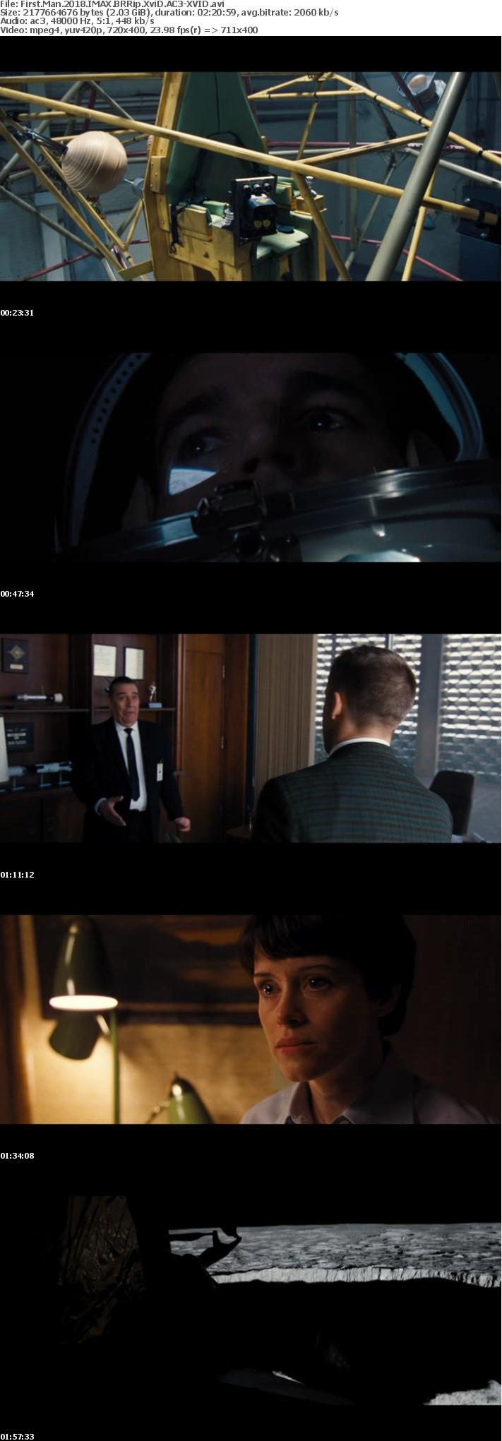 First Man 2018 IMAX BRRip XviD AC3-XVID
