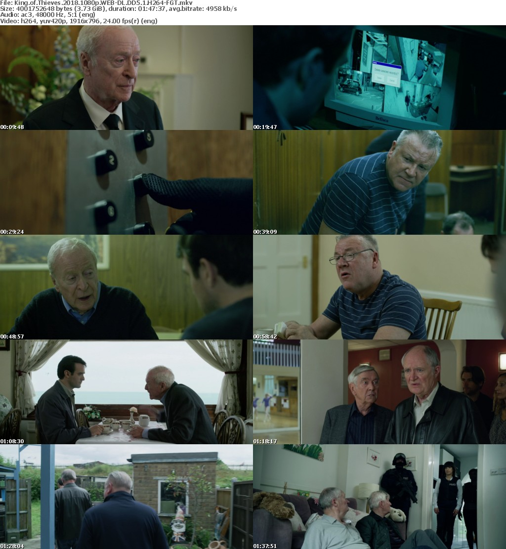 King of Thieves 2018 1080p WEB-DL DD5 1 H264-FGT