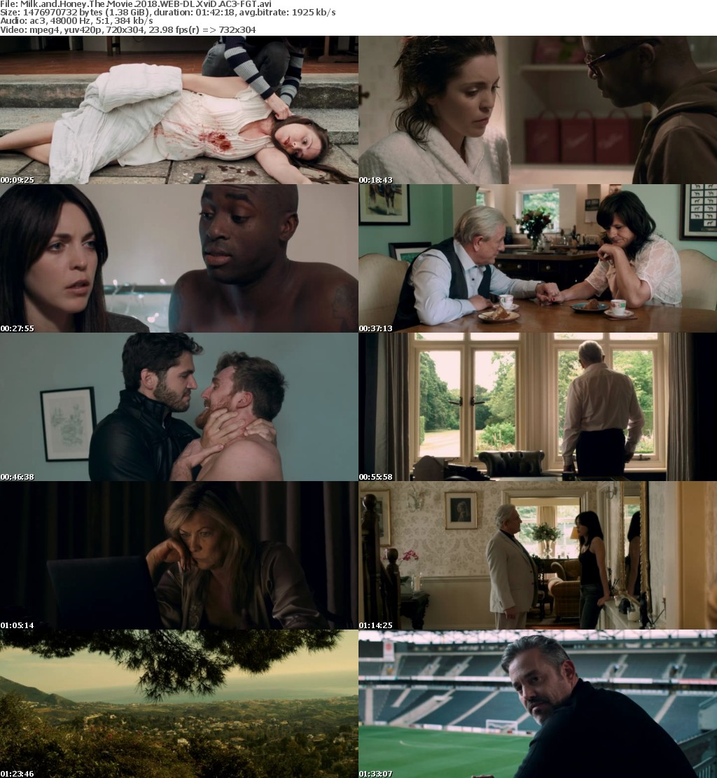 Milk and Honey The Movie 2018 WEB-DL XviD AC3-FGT
