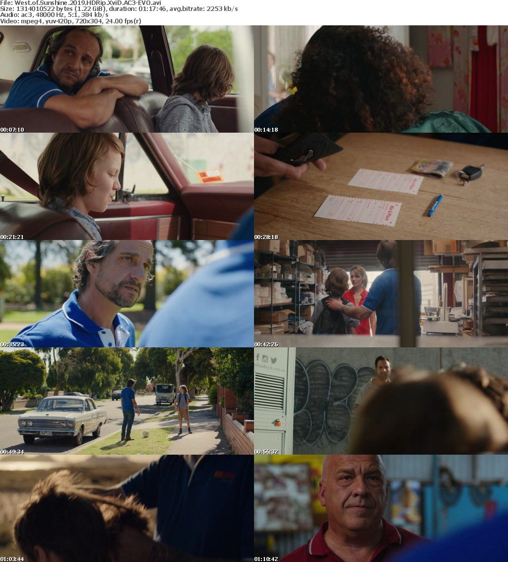 West of Sunshine (2019) HDRip XviD AC3-EVO