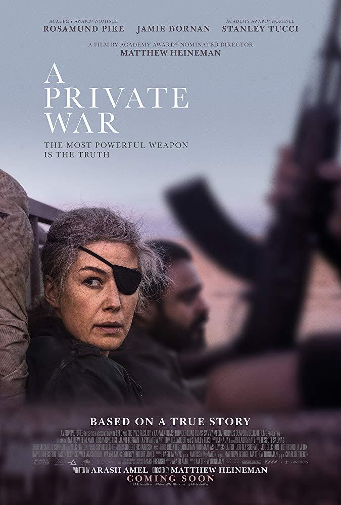 Private War 2018 DVDRip XviD AC3-EVO [TD]