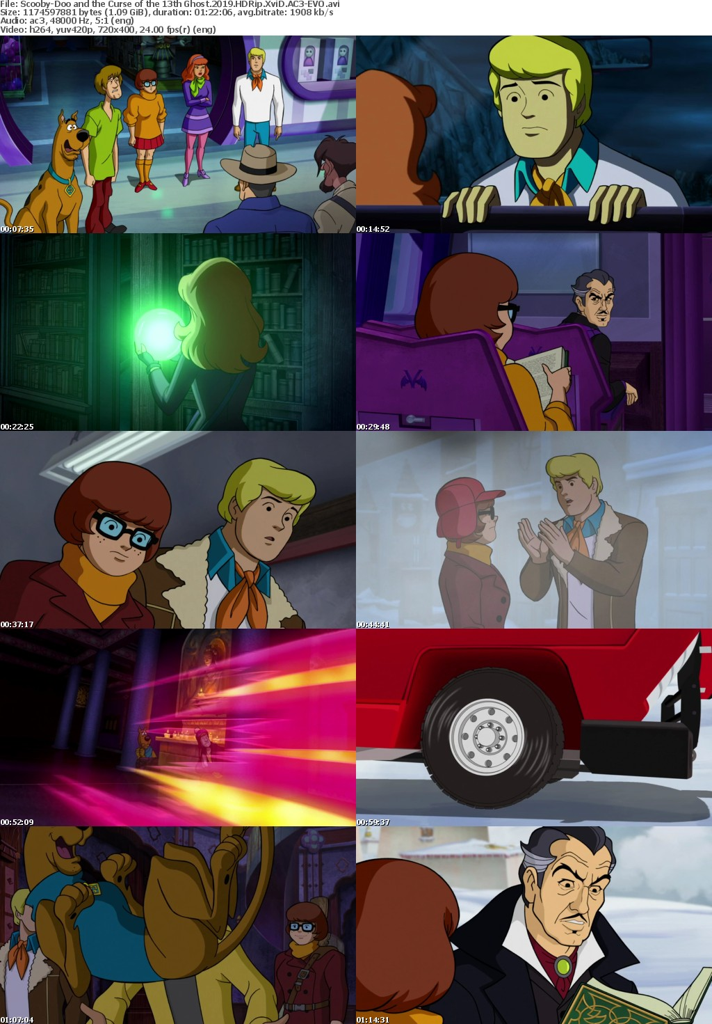 Scooby-Doo and the Curse of the 13th Ghost (2019) HDRip XviD AC3-EVO
