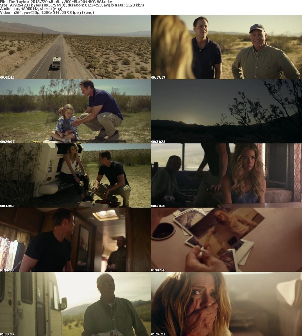 The Toybox (2018) 720p BluRay 900MB x264-BONSAI