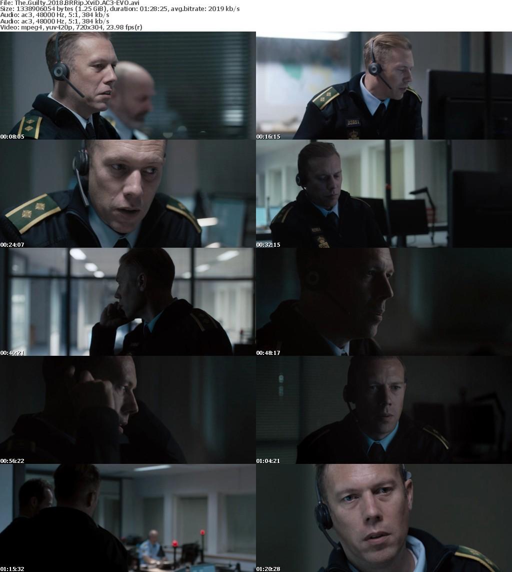The Guilty (2018) BRRip XviD AC3-EVO