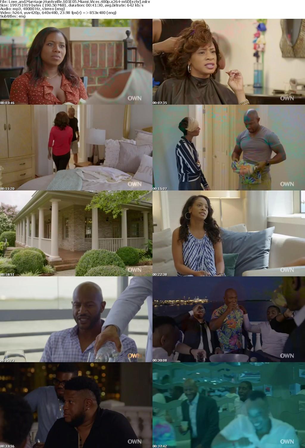 Love and Marriage Huntsville S01E05 Miami Vices 480p x264-mSD