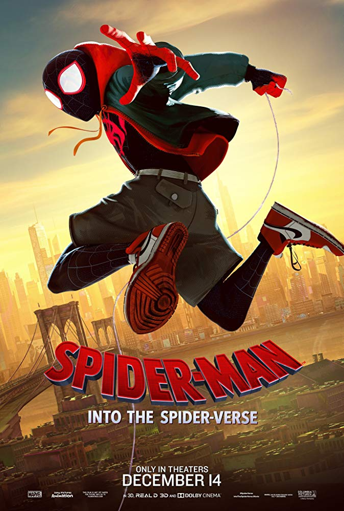 Spider-Man Into the Spider-Verse 2019 720p HDRip 800MB x264-GalaxyRG