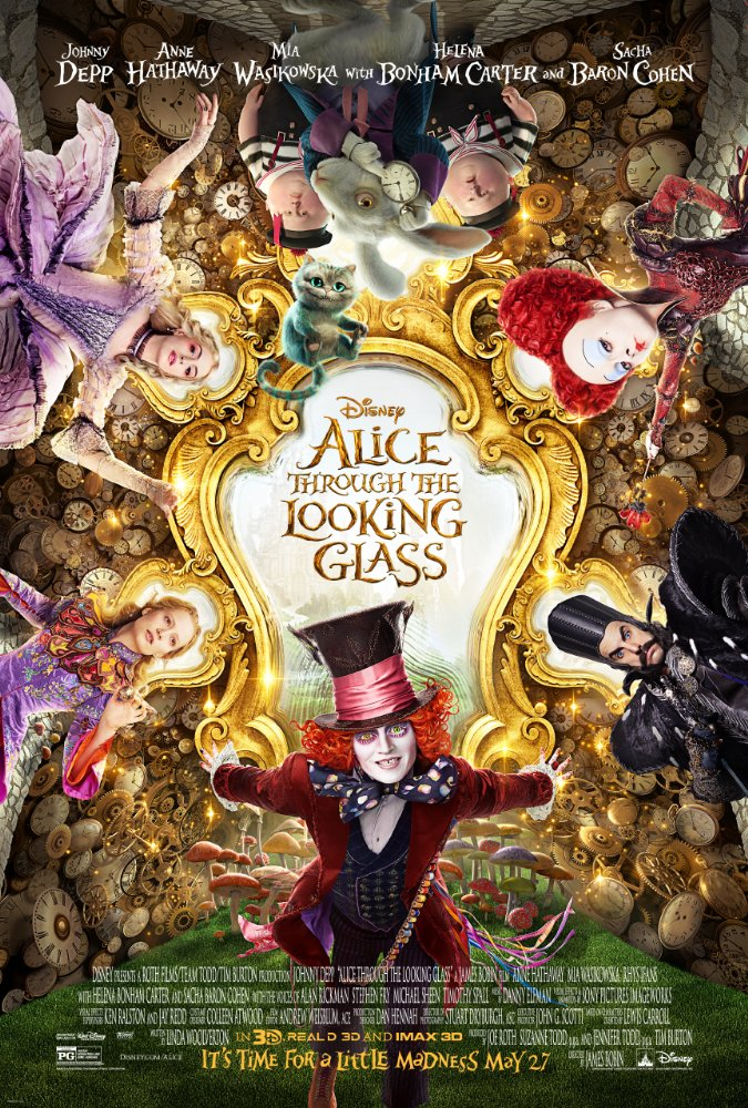 Alice Through the Looking Glass 2016 [BluRay] [720p] YIFY