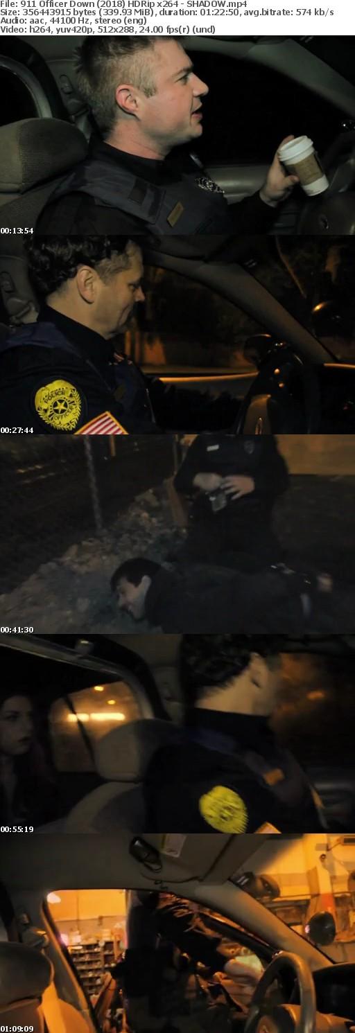 911 Officer Down (2018) HDRip x264 - SHADOW[TGx]