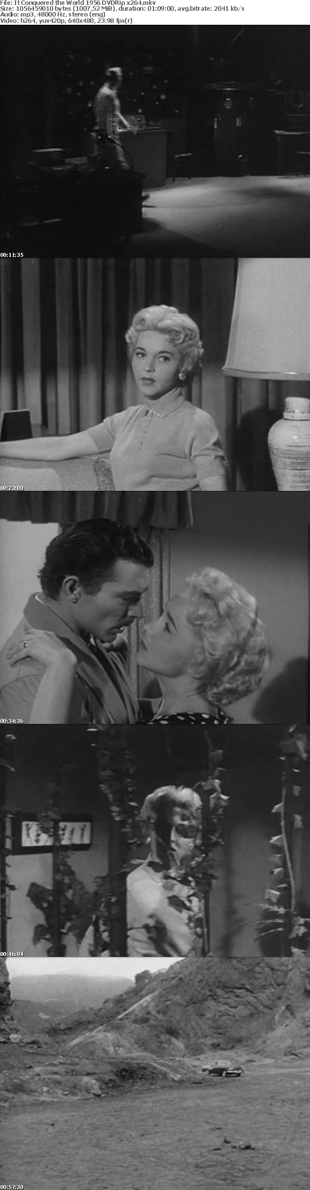 It Conquered the World 1956 DVDRip x264