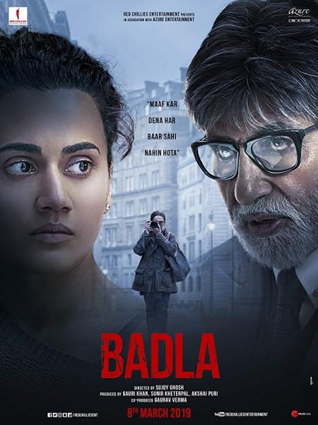 Badla (2019) Hindi DesiPre Rip CineVood Exclusive