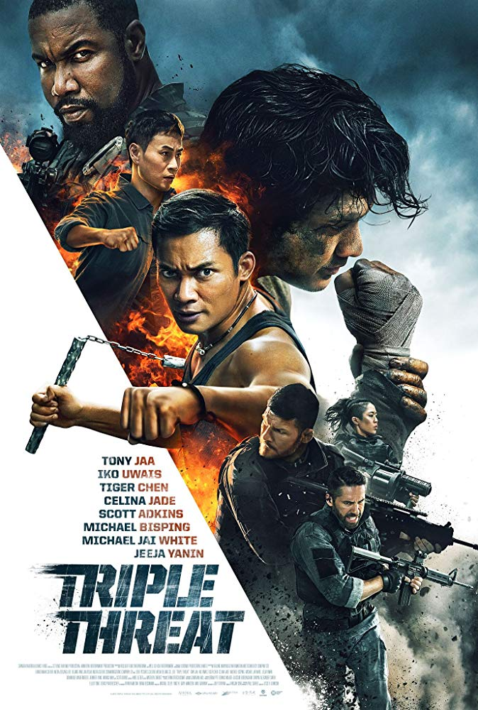 Triple Threat 2019 HDRip XviD B4ND1T69