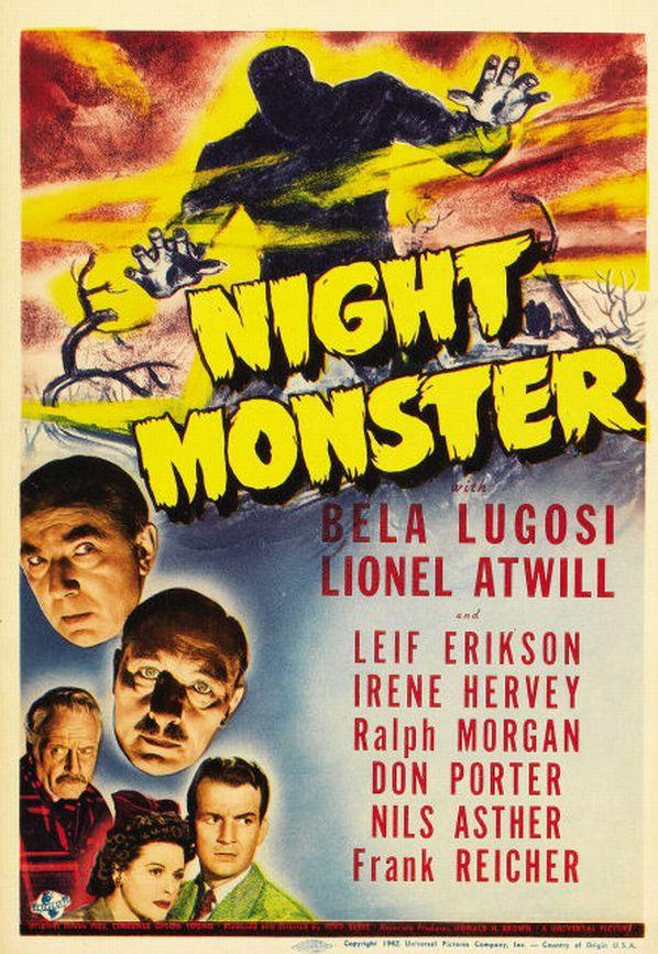 Night Monster 1942 DVDRip XViD