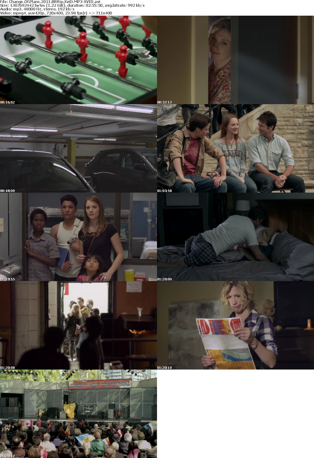 Change Of Plans (2011) BRRip XviD MP3-XVID