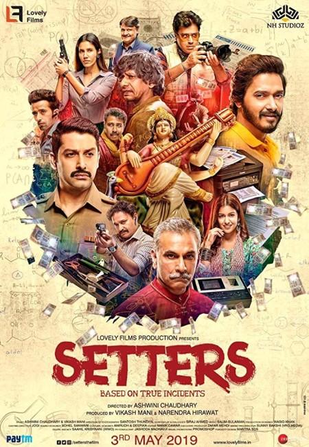 Setters 2019 480p PreDVD Rip 350MB Hindi Movie x264 CineVood Exclusive
