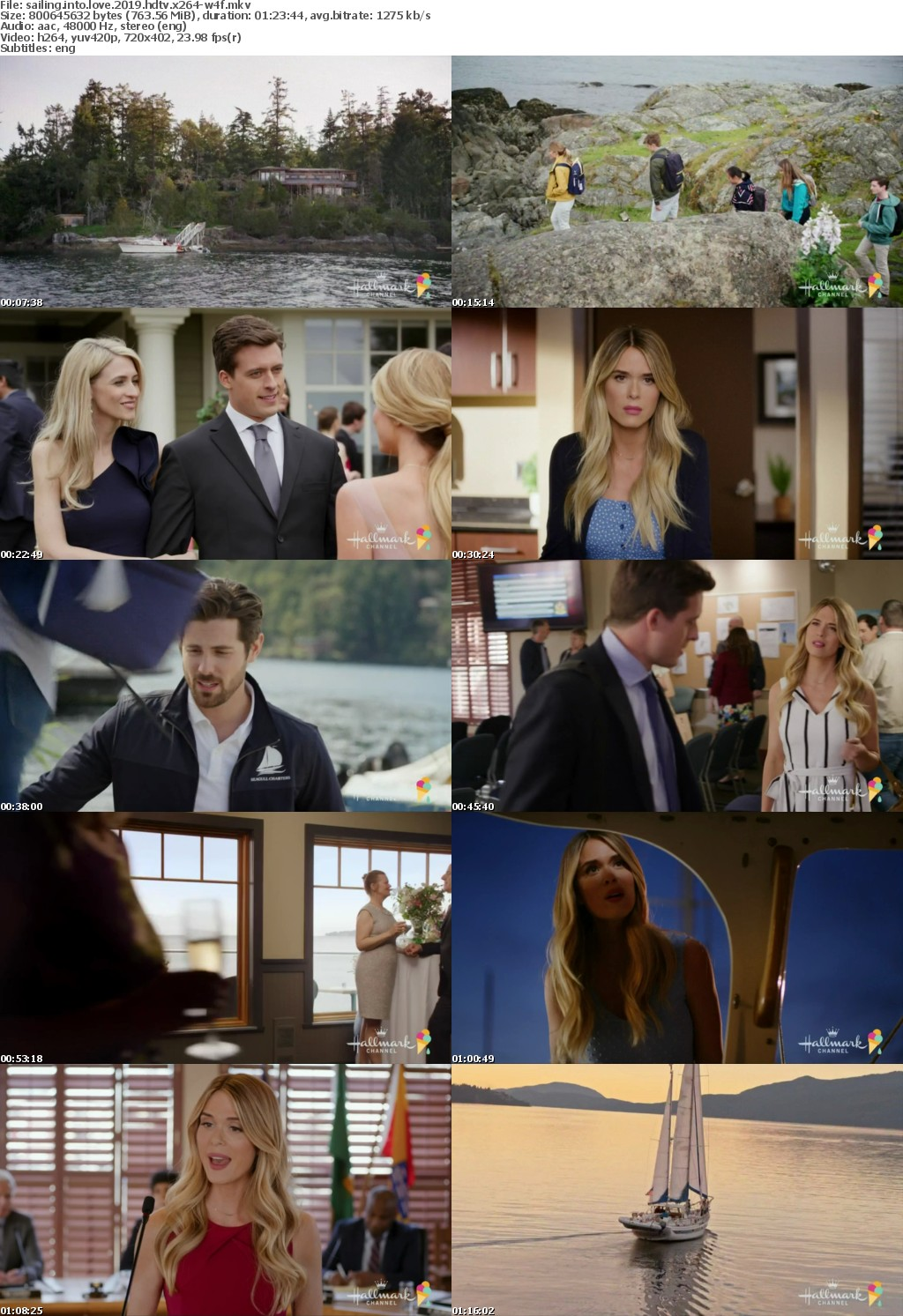 Sailing Into Love (2019) HDTV x264-W4F