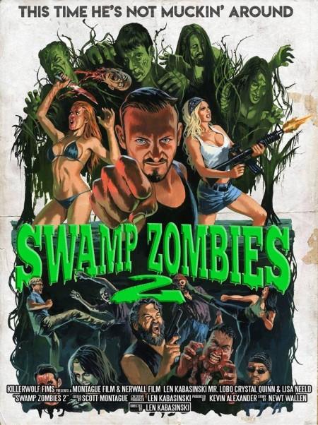 Swamp Zombies 2 (2018) HDRip x264 - SHADOW