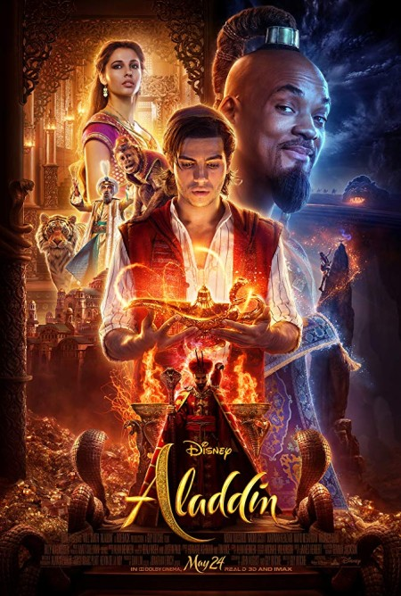 Aladdin (2019) HDCAM V2 Hindi + English Dual-Audio x264 - KatmovieHD