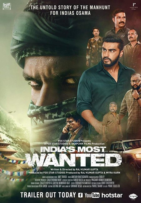 India's Most Wanted 2019 PreDVD Rip 350MB x264 CineVood Exclusive