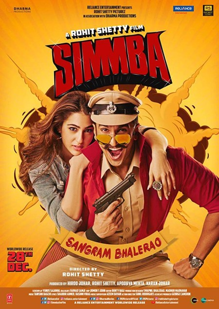 Simmba (2018) Hindi 720p BluRay x264 AAC 5 1 ESubs -UnknownStAr Telly