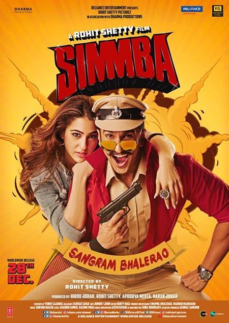 Simmba (2018) Hindi 720p BluRay x264 AAC 5.1 ESubs -UnknownStAr Telly