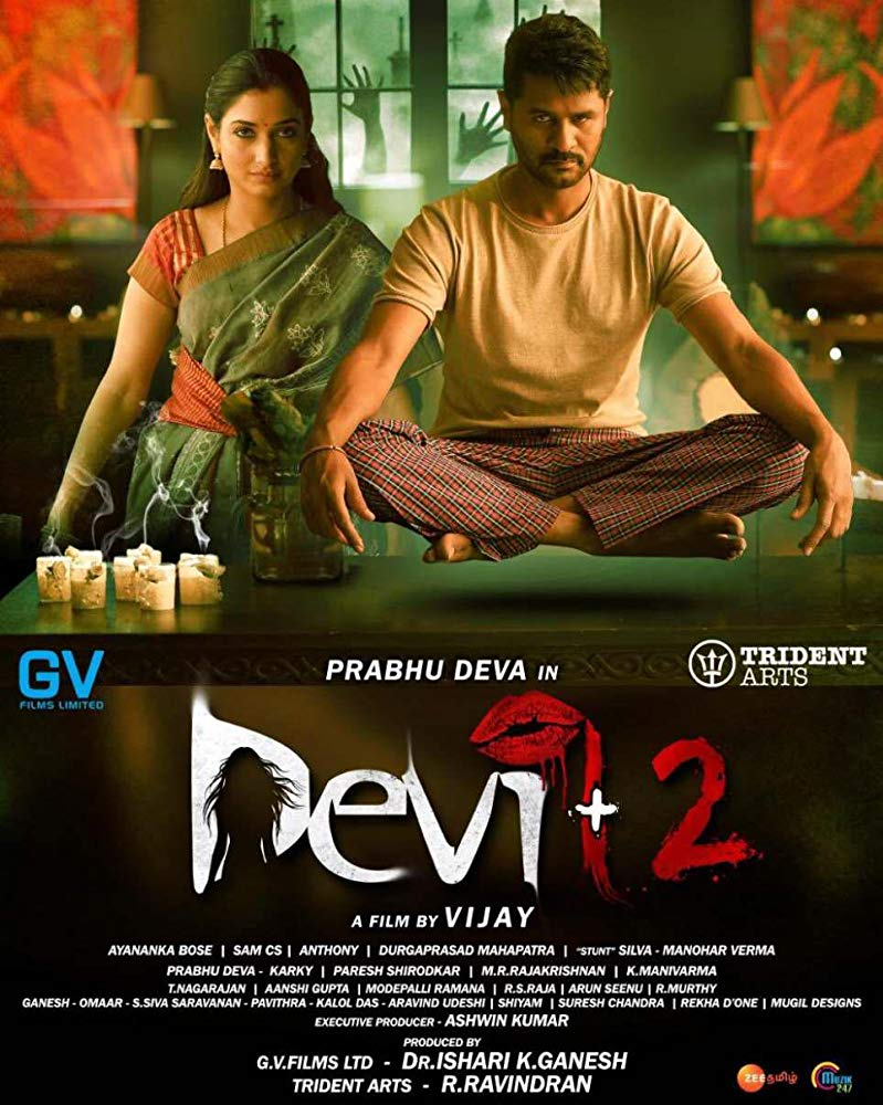 Devi 2 2019 Tamil HQ PreDVDRip - x264 - 250MB - Original Audio