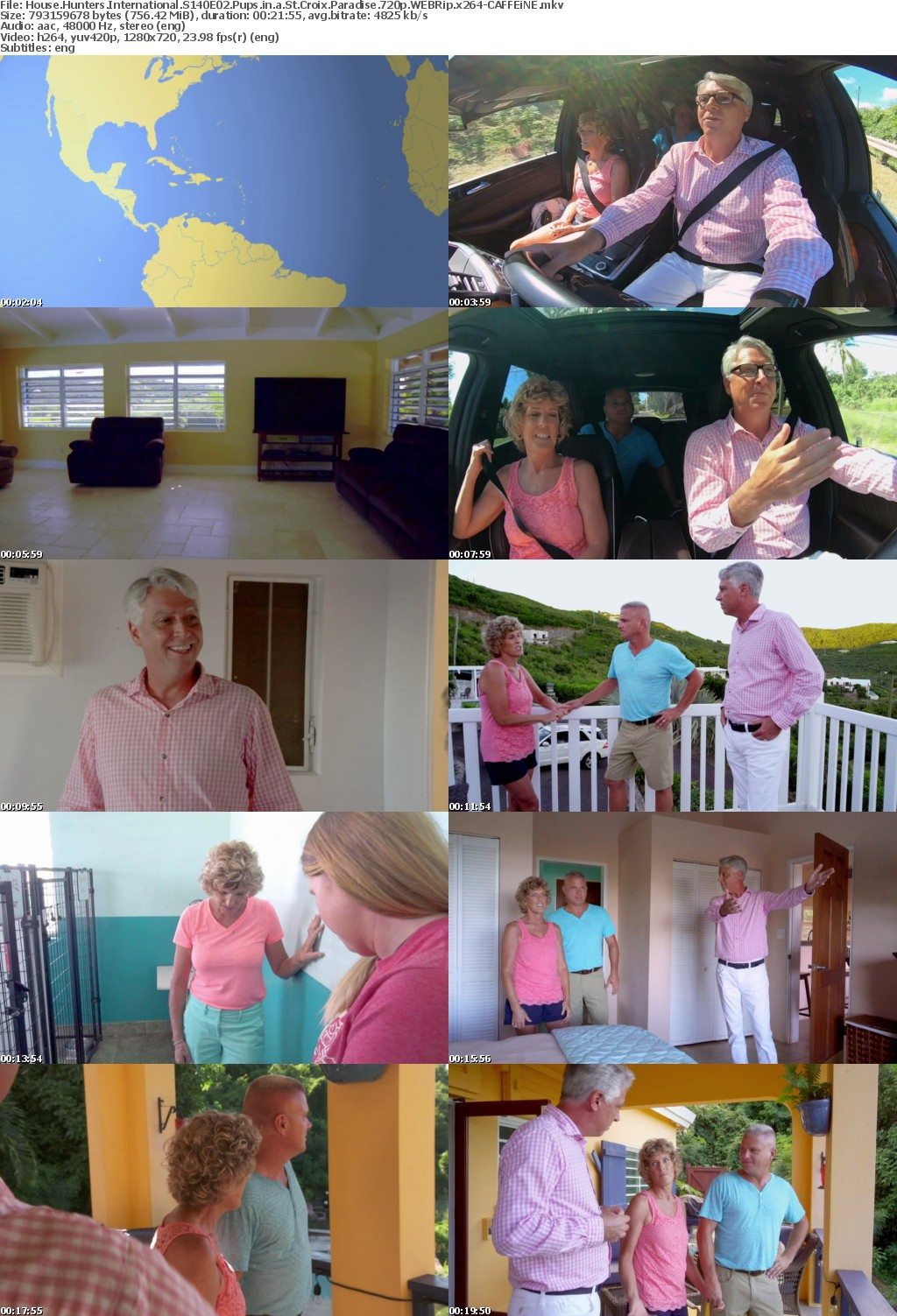 House Hunters International S140E02 Pups in a St Croix Paradise 720p WEBRip x264-CAFFEiNE
