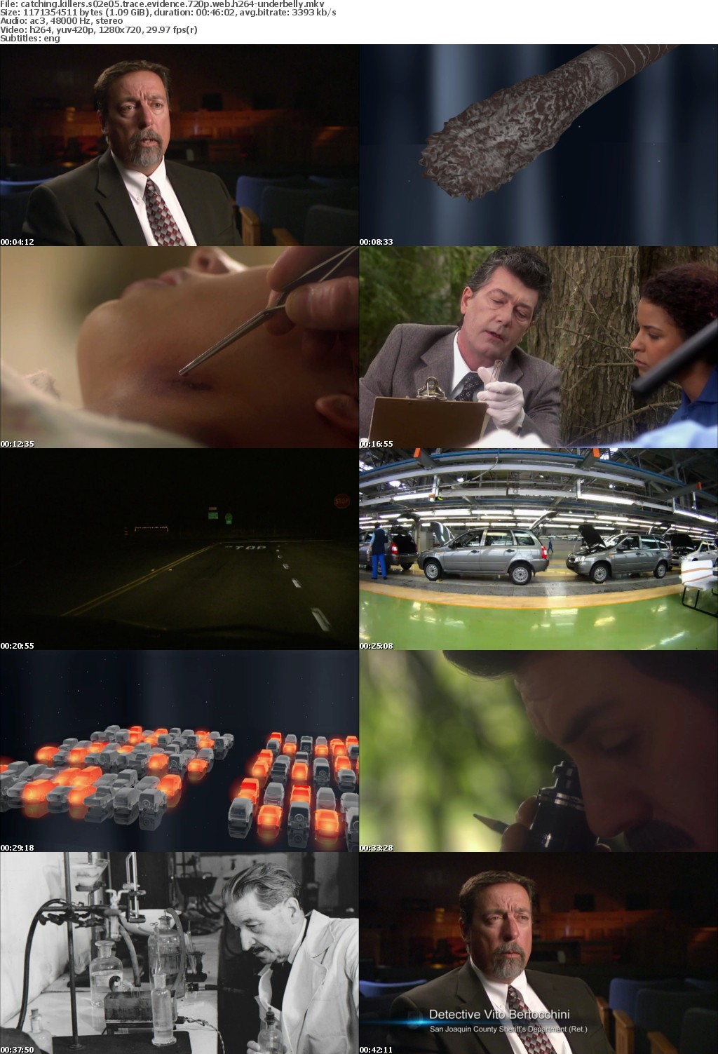 catching killers s02e05 trace evidence 720p web h264-underbelly