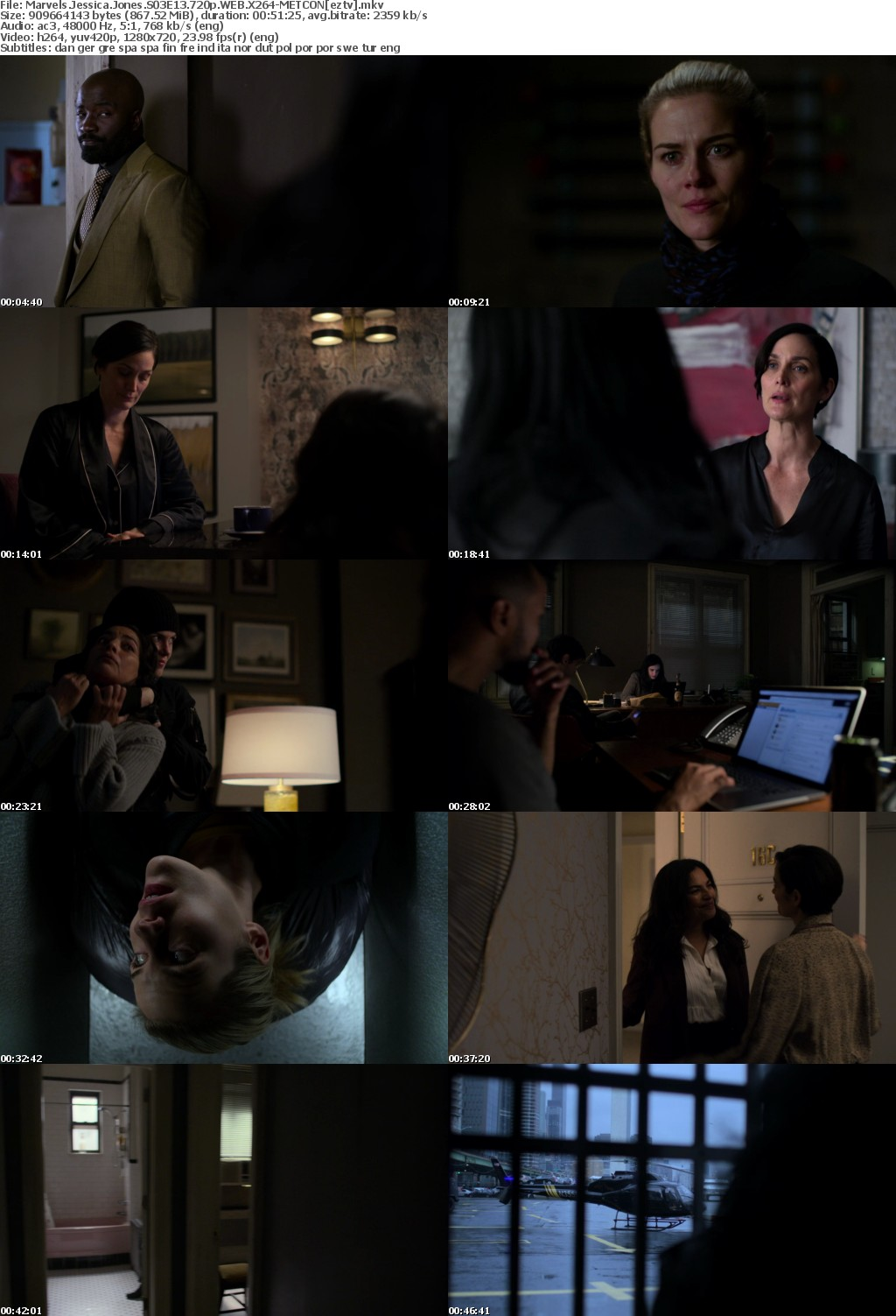 Marvels Jessica Jones S03E13 720p WEB X264-METCON
