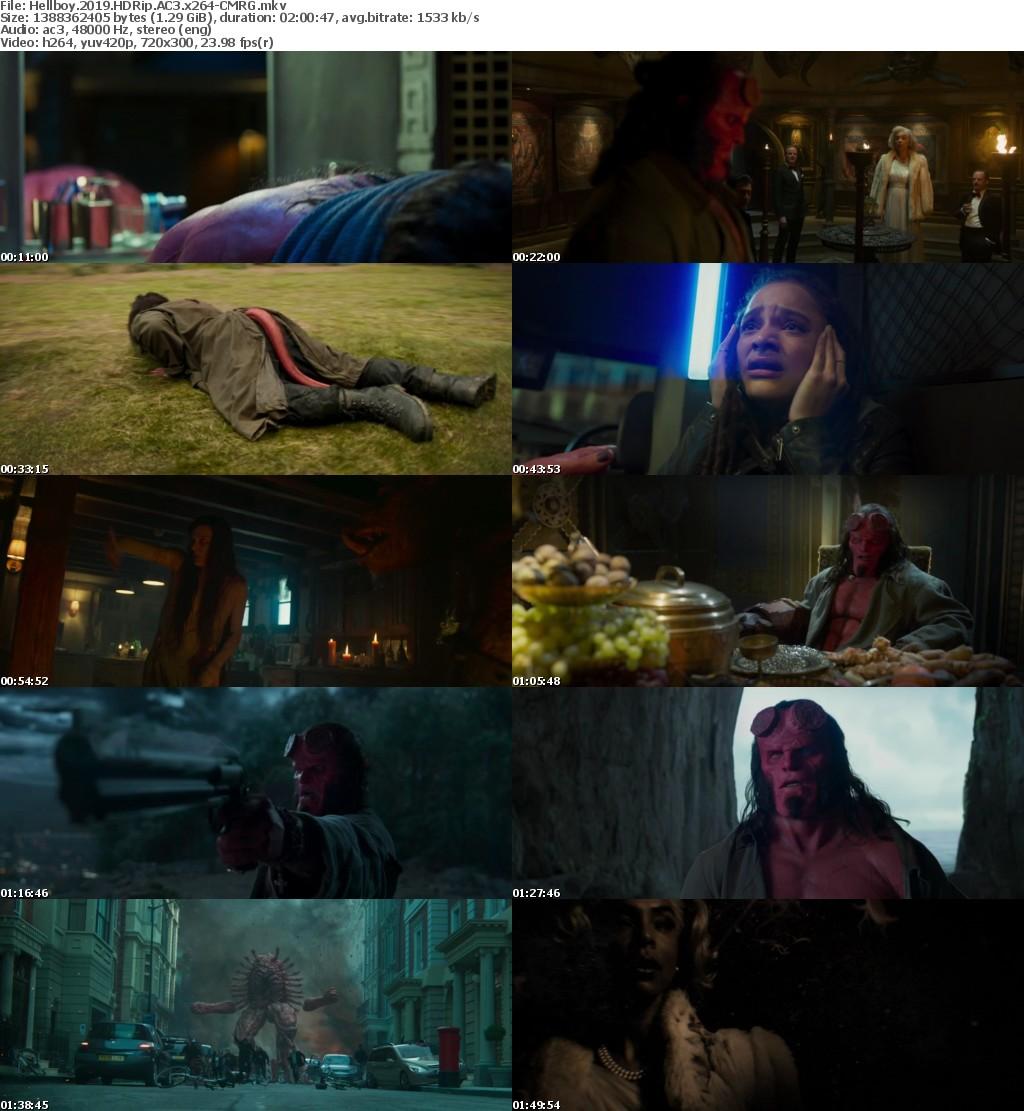 Hellboy (2019) HDRip AC3 x264 CMRG