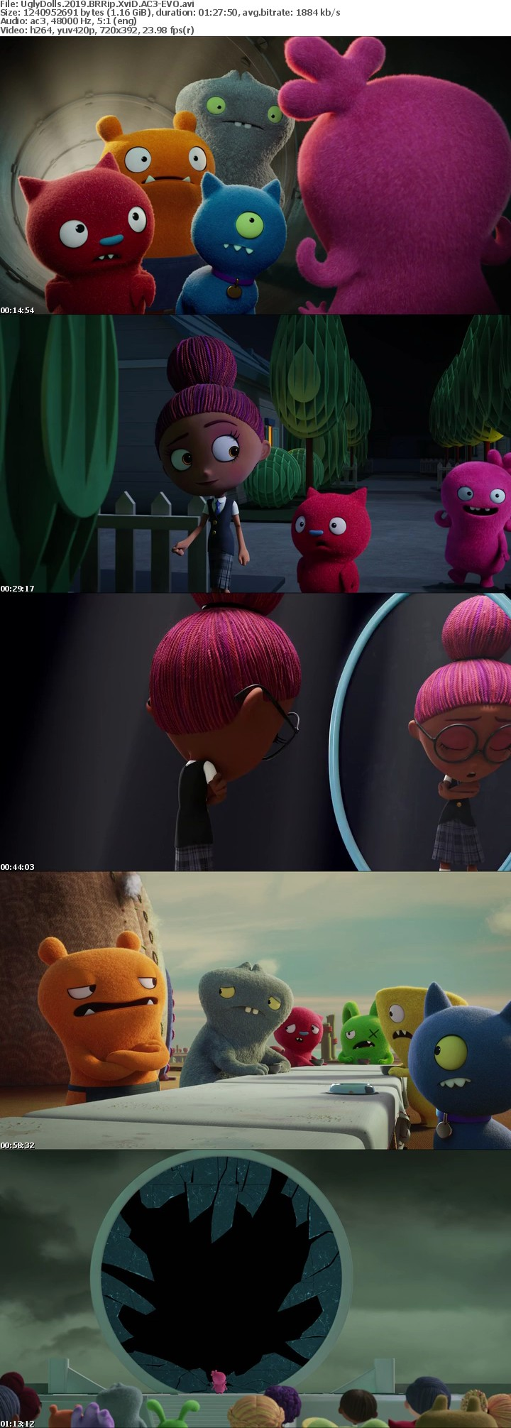 UglyDolls 2019 BRRip XviD AC3-EVO