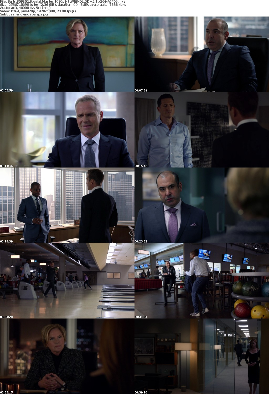 Suits S09E02 Special Master 1080p NF WEB-DL DD+5 1 x264-AJP69