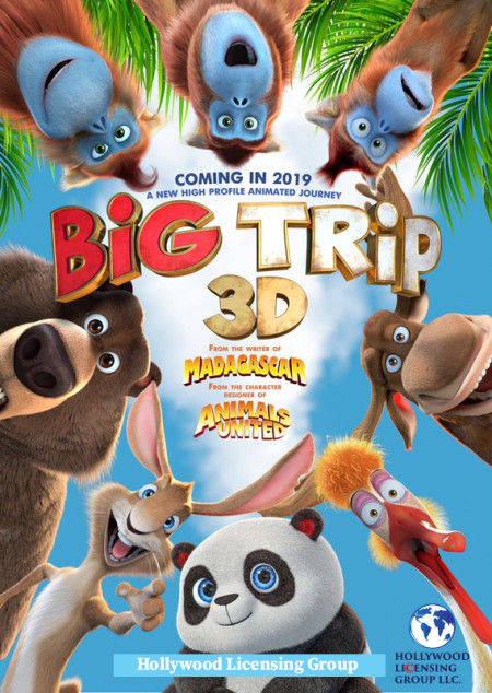 The Big Trip (2019) 720p WEBRip 800MB x264 GalaxyRG