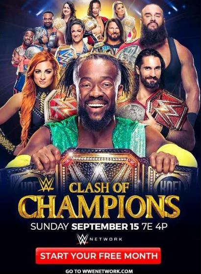WWE Clash Of Champions 2019 PPV WEBRip 480p 800MB  DLW