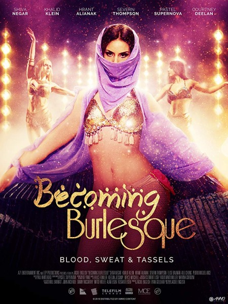Becoming Burlesque (2018) HDRip XViD ETRG
