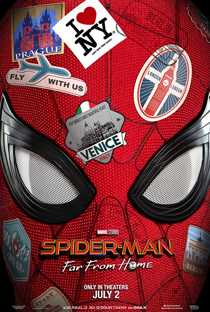 Spider-Man Far from Home 2019 720p BRRip X264 AC3-EVO