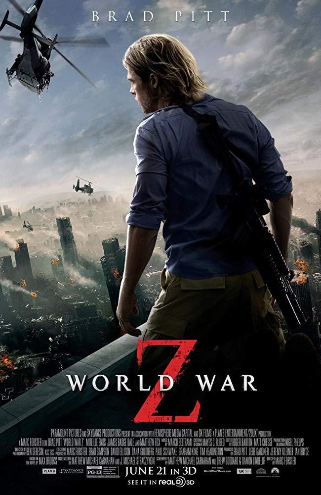 World War Z 2013 Bluray 1080P X264- Unrated- Obey[TGx]