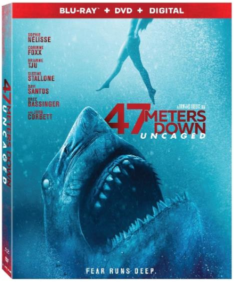47 Meters Down Uncaged (2019) HC HDRip XviD AC3-EVO