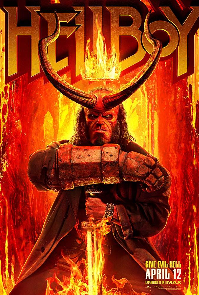 Hellboy 2019 COMPLETE NTSC DVD9-HONOR