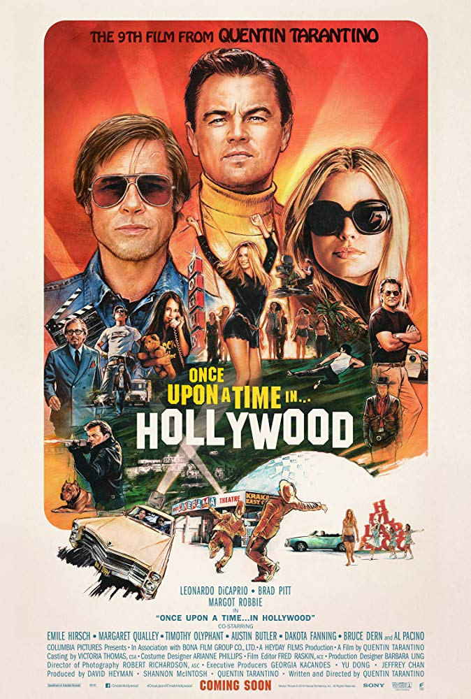 Once Upon a Time in Hollywood 2019 720p BluRay 999MB x264-GalaxyRG