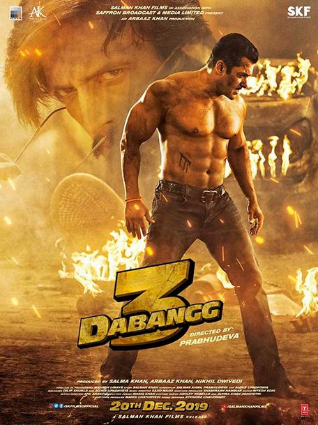 Dabangg 3 (2019) Hindi 720p AMZN WEB-DL DD5.1 x265-Telly