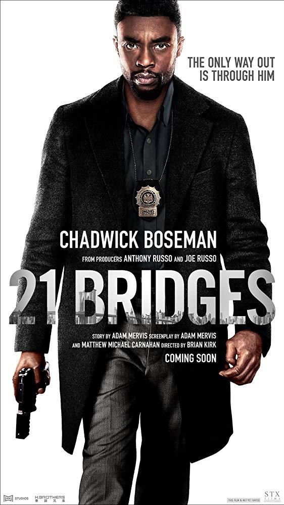 21 Bridges 2019 720p BrRip 2CH x265 HEVC-PSA