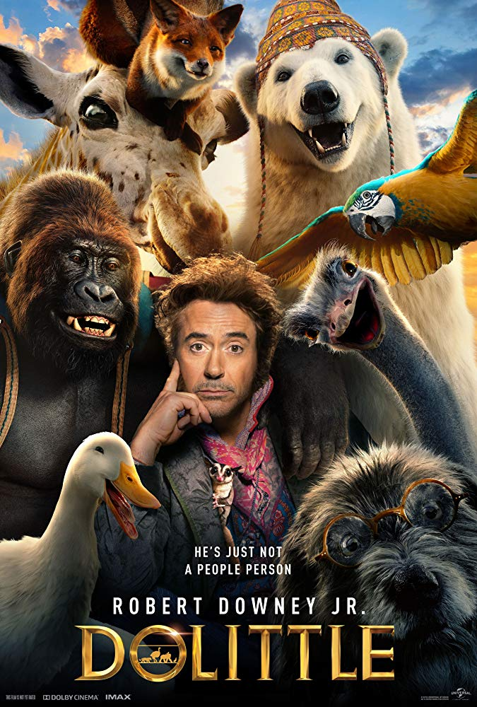 Dolittle 2020 INTERNAL 720p WEBRip 2CH x265 HEVC-PSA